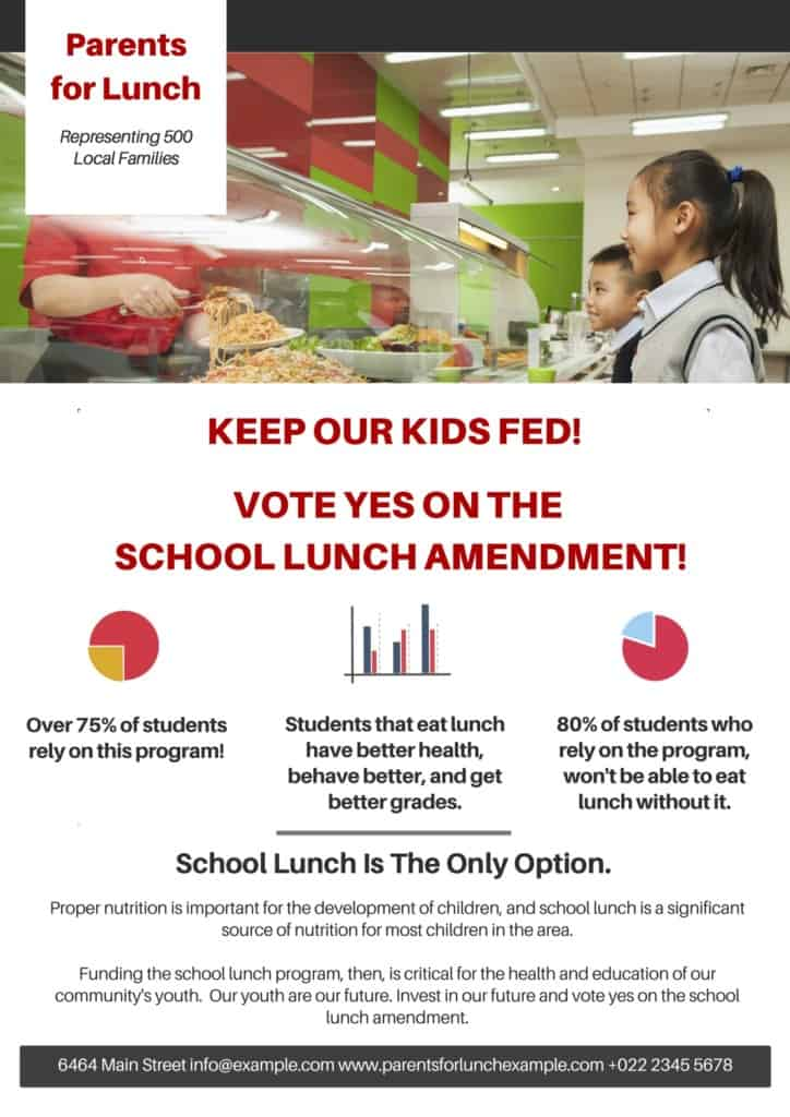 Example One-Pager_Parents_For_Lunch